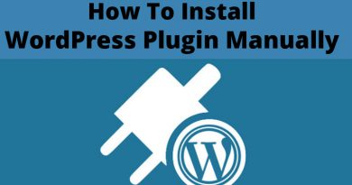 How To Install WordPress Plugins Manually