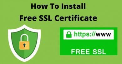 Install Free SSL Certificate WordPress ChemiCloud