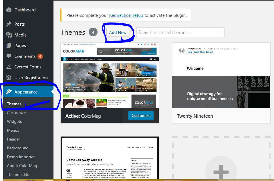 Upload WordPress Theme From Desktop