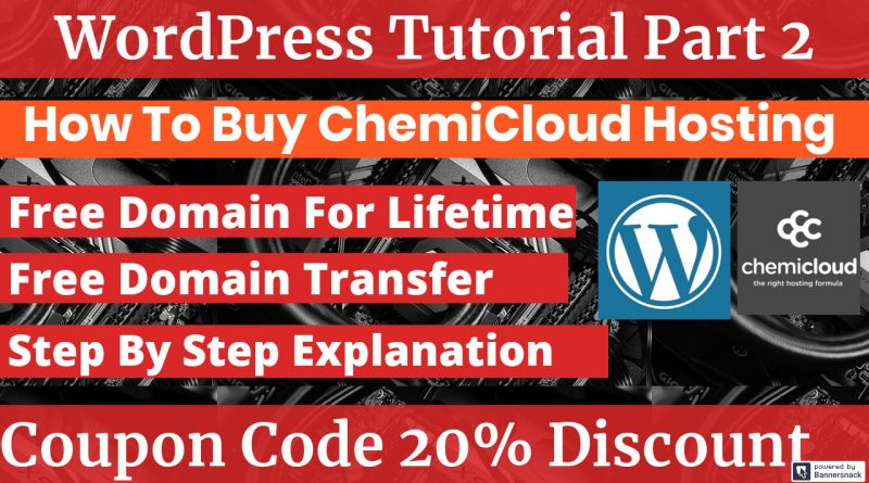 Purchase Chemicloud Web Hosting With Free Domain And Coupon Code
