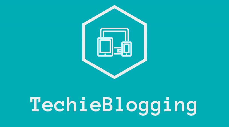 About Techie Blogging