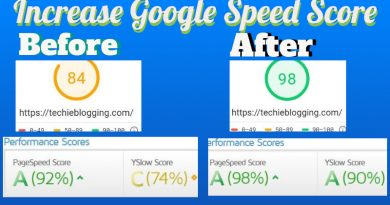 Website Speed Test Increase Google Page Speed