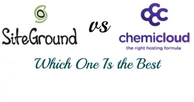 Siteground vs Chemicloud Reviews