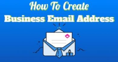 How To Create Business Email Address