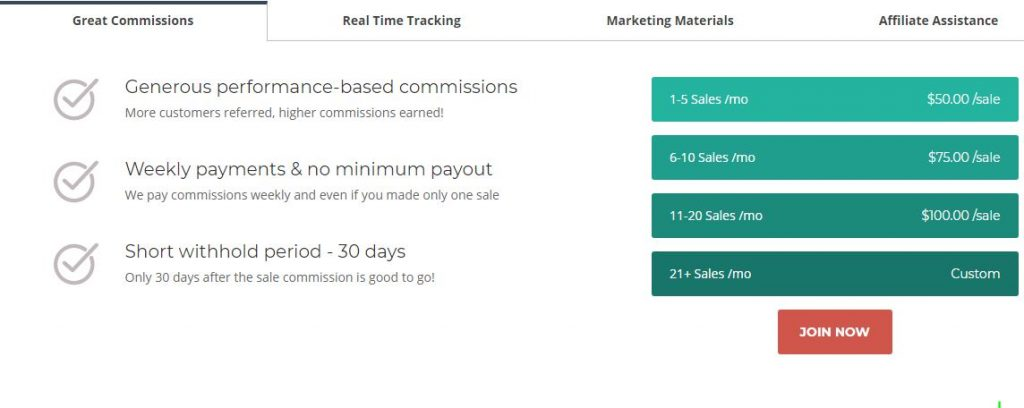 Siteground Affiliate Program And Commissions