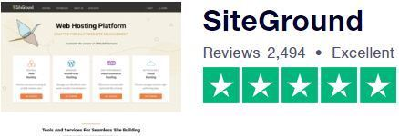 Siteground User Review on Trustpilot