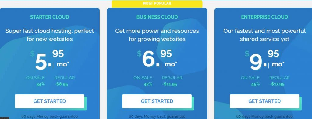 TMDHosting Cloud Hosting Plans And Price