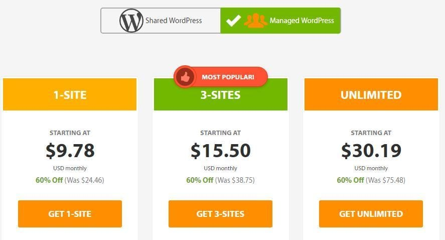 A2 Hosting Reviews Managed WordPress Hosting