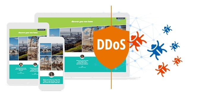 Free DDoS Attack Protection