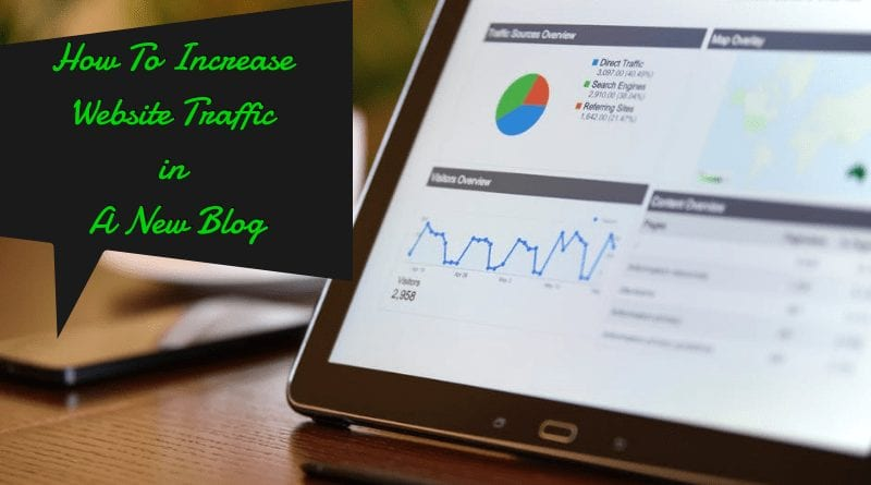 How To Get Web Traffic To New Blog
