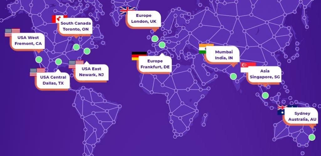 HostArmada Reviews Data Centers Location