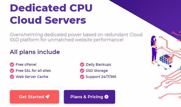 HostArmada Reviews Dedicated CPU SSD Hosting Plans