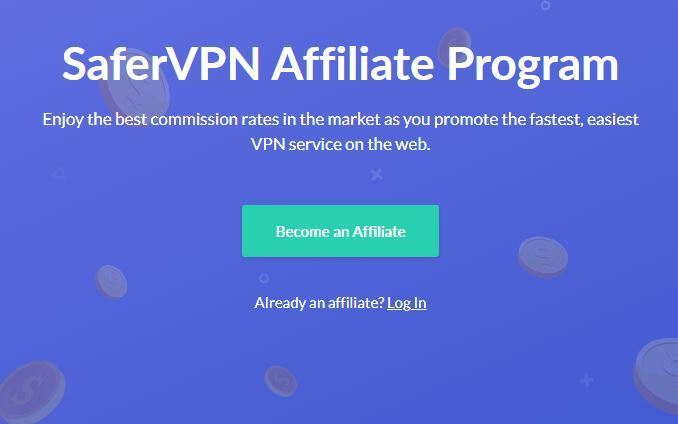 Safer VPN Recurring Affiliate Programs