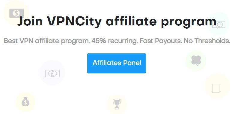 VPNCity Recurring VPN Affiliate Programs